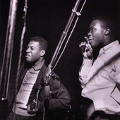 Grant Green with Big John Patton during Patton's Oh Baby session, Englewood Cliffs NJ, March 8 1965