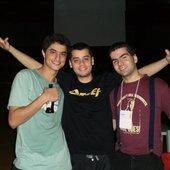 Stênio, Marquim e Lucas