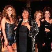 Aretha Franklin, Celine Dion, Shania Twain, Gloria Estefan, Mariah Carey, Carol King