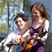 Conor Oberst and Gillian Welch