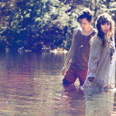 Purity Ring in a pond!