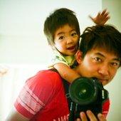 Kaito with Hiroshi