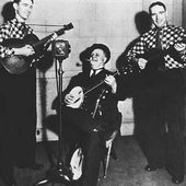 Uncle Dave Macon with The Delmore Brothers