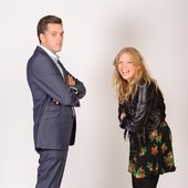 Iain Lee and Eloise