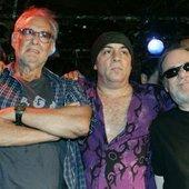 Hilly Krystal, Little Steven and Tommy Ramone