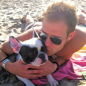 Kris & Zorro Beach Day :)