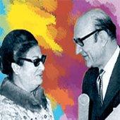 Abdel waha avec Oum Kalthoum