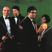 Le Quatuor Rosamonde, Jean Sulem, Agnès Sulem-Bialobroda, Xavier Gagnepain, Thomas Tercieux