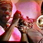 Russell Gunn and Danny Campbell with El Caribe, Salsa/Latin Jazz Group 1991