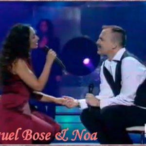 Image for 'Miguel Bosé con Noa'