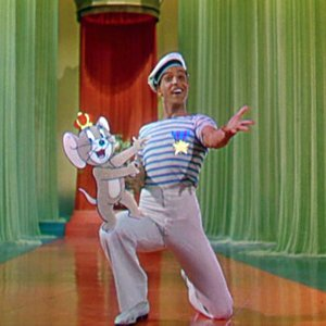 Bild für 'Gene Kelly and Jerry the Mouse'