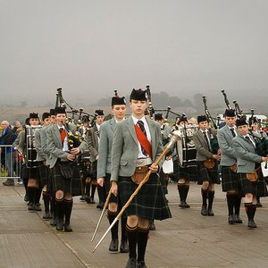 Image for 'Queen Victoria School pipe band'