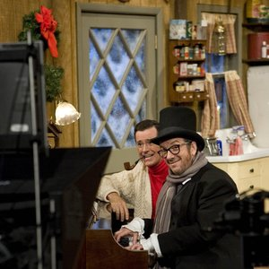 Image for 'Stephen Colbert & Elvis Costello'