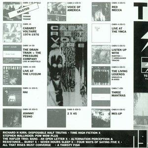 Imagem de 'Throbbing Gristle - 4CD - Live - Volume 1 (1976-1978)'