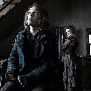 Image for 'Helena Bonham Carter, Jamie Campbell Bower & Johnny Depp'