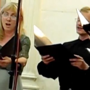 Image for 'Tomkins Vocal Ensemble, Budapest; Zoltan Kocsis, conductor; Akos Ambrus, Diacon; Tamas Bubno, priest'