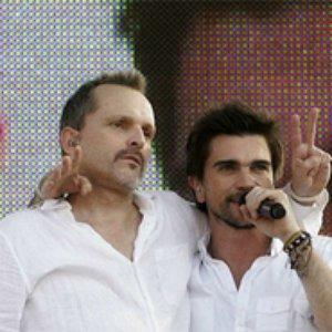 Image for 'Miguel Bosé con Juanes'