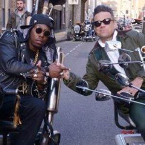 Image for 'Dizzee Rascal feat. Robbie Williams'