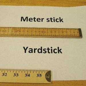 Image for 'meter versus yard'