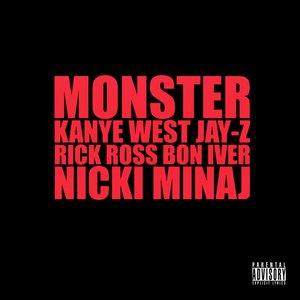 Image for 'Kanye West Feat. Jay-Z, Rick Ross, Bon Iver & Nicki Minaj'