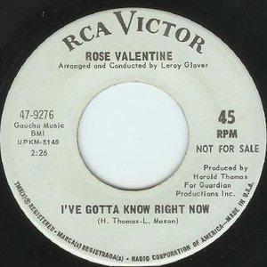 Image for 'Rose Valentine'