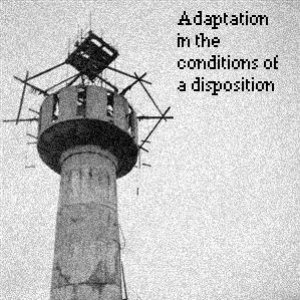 Image for 'Adaptation in the conditions of a disposition'