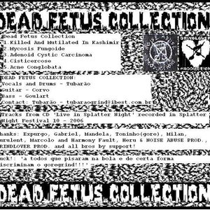 Image for 'Dead Fetus Collection'