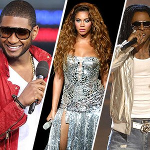 Image for 'Usher Feat. Beyonce & Lil' Wayne'