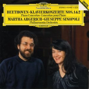 Image for 'Martha Argerich; Giuseppe Sinopoli: Philharmonia Orchestra'