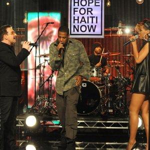 Image for 'Jay-Z, Bono, The Edge, Rihanna'