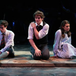 Image for 'Jonathan Groff, Jr. John Gallagher & Lea Michele'