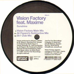 Immagine per 'Vision Factory Feat. Maxime'