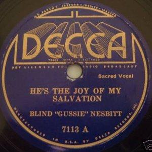 Bild für 'Blind Gussie Nesbit'