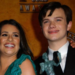 Image pour 'Chris Colfer and Lea Michele'