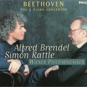 Image pour 'Alfred Brendel; Simon Rattle: Vienna Philharmonic Orchestra'