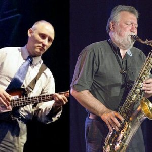 Image for 'Jah Wobble & Evan Parker'