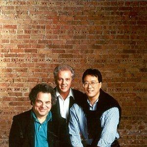 Image pour 'Itzhak Perlman, Yo-Yo Ma; Daniel Baremboim: Berlin Philharmonic Orchestra'