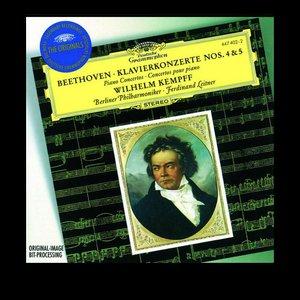 Image for 'Wilhelm Kempff, Berliner Philharmoniker & Ferdinand Leitner'