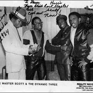 Image for 'Rock Master Scott & The Dynamic Three'