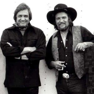 Image for 'Johnny Cash with Waylon Jennings'