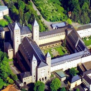 Image for 'Chant School of Münsterschwarzach Benedictine Abbey; Pater Godehard Joppich'