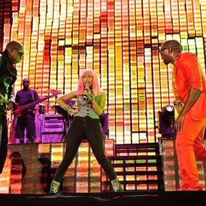 Bild für 'Kanye West, Jay-Z, Rick Ross, Nicki Minaj & Bon Iver'