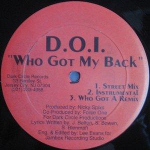 Image for 'D.O.I.'