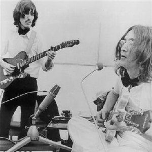Image for 'George Harrison & John Lennon'