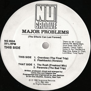 Image for 'Major Problems'