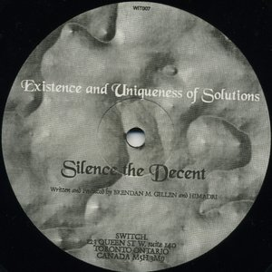 Image for 'Existence And Uniqueness Of Solutions'