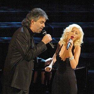 Image for 'Andrea Bocelli & Christina Aquilera'