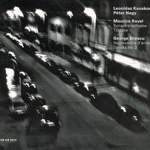 Image for 'Leonidas Kavakos, violin; Peter Nagy, piano'