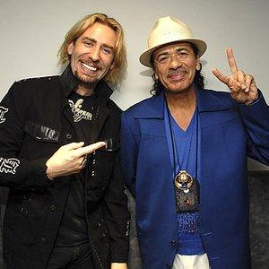 Image for 'Carlos Santana & Chad Kroeger Of Nickelback'