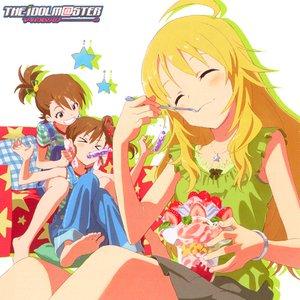 Image pour 'Amami Haruka (cv.Nakamura Eriko), Hoshii Miki (cv. Hasegawa Akiko), Kisaragi Chihaya (cv. Imai Asami), Takatsuki Yayoi (cv. Nigo Mayako), Hagiwara Yukiho (cv. Asakura Azumi), Kikuchi Makoto (cv. Hirata Hiromi), Futami Mami (cv. Shimoda Asami), Shijou Takane (cv. Hara Yumi), Ganaha Hibiki (cv. Numakura Manami)'
